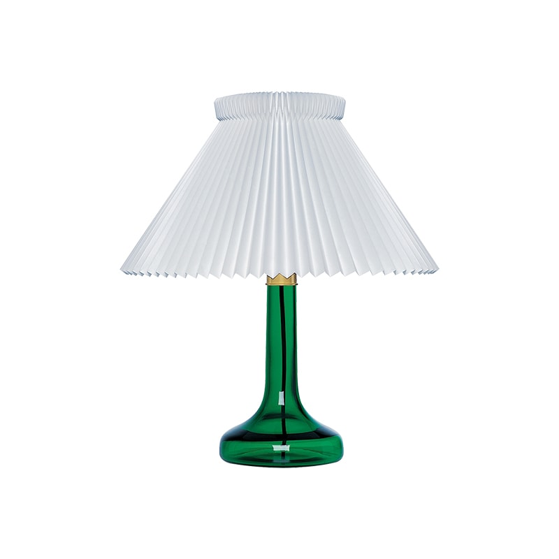Le Klint model 343 bordslampa grönt
