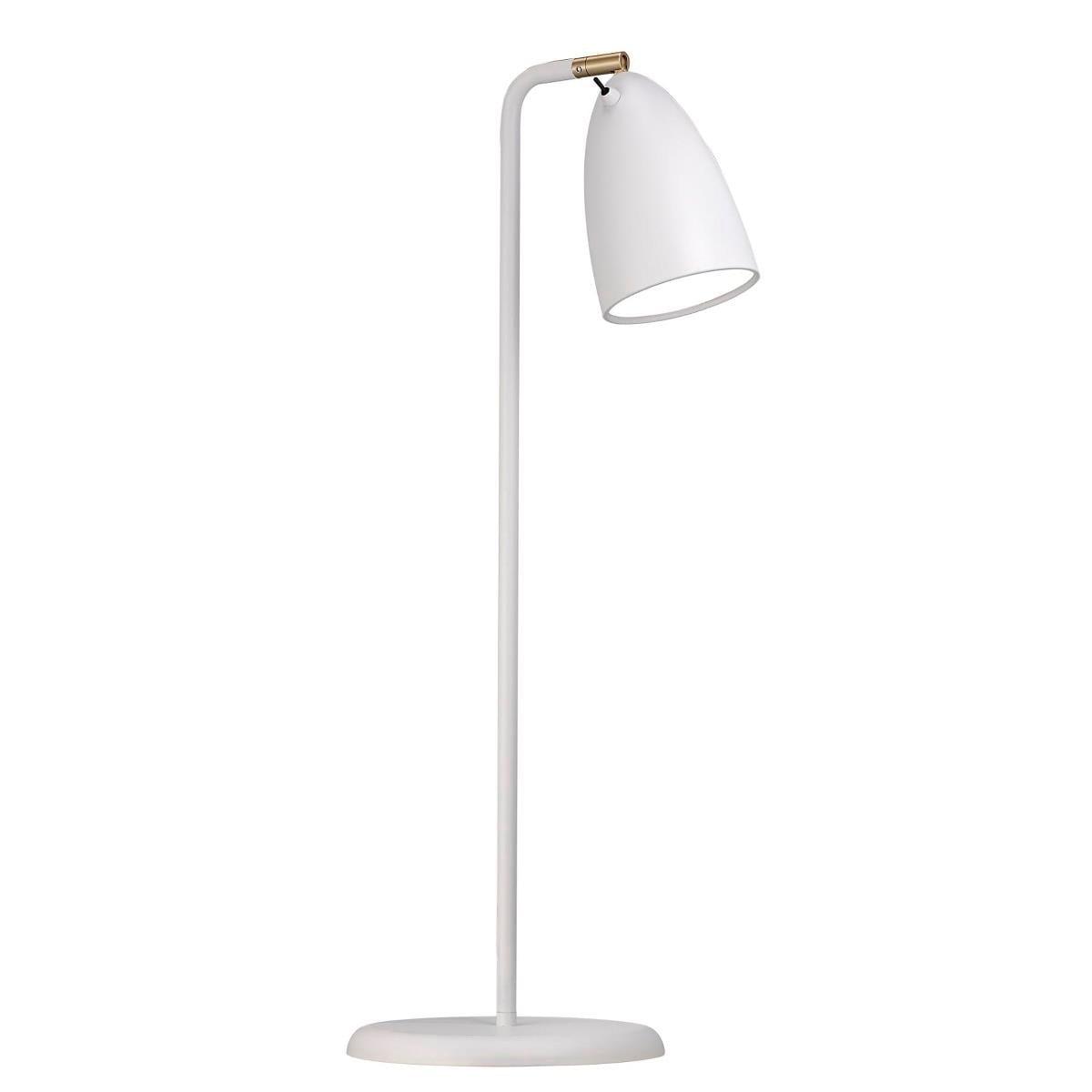 Nexus 10 bordslampa vit