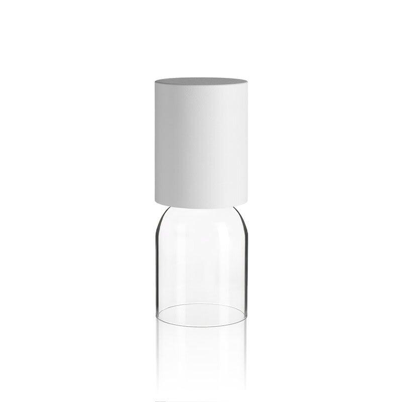 Nui mini outdoor bordslampa vit