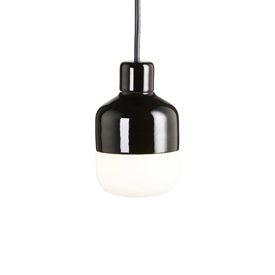 Ohm outdoor 100/155 taklampa opalglas/svart
