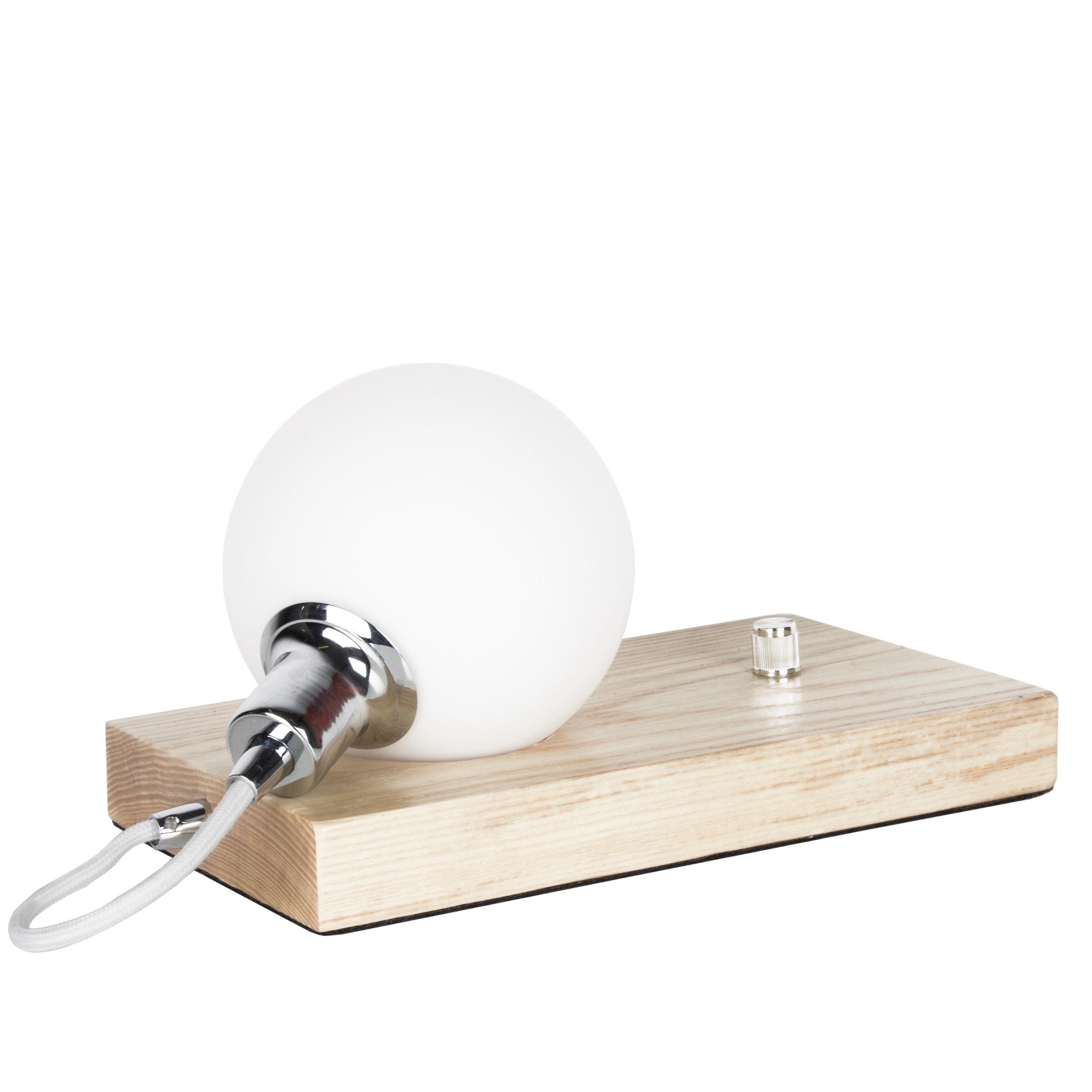 Orb bordslampa ask