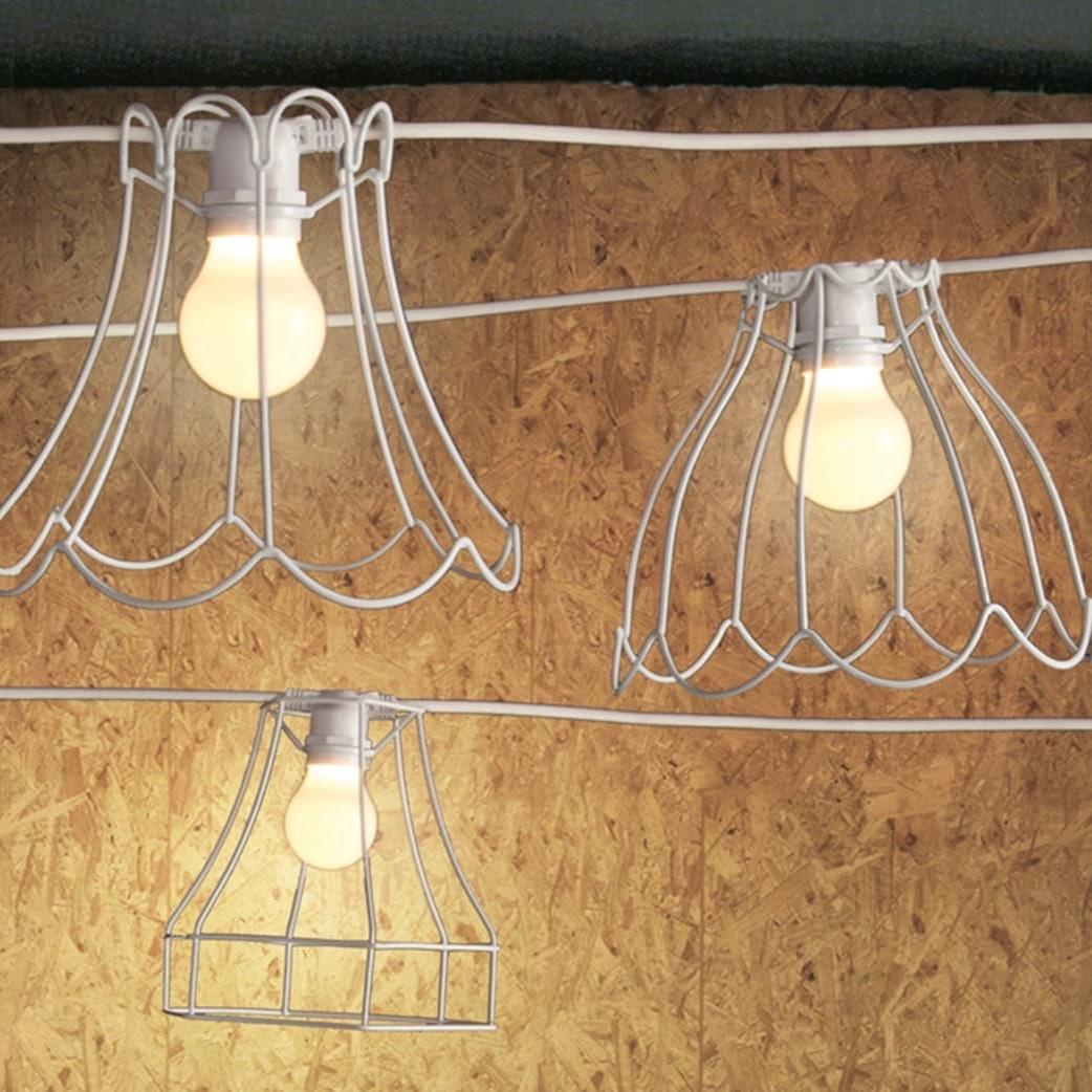 PARALUME-2 lampskärm vit
