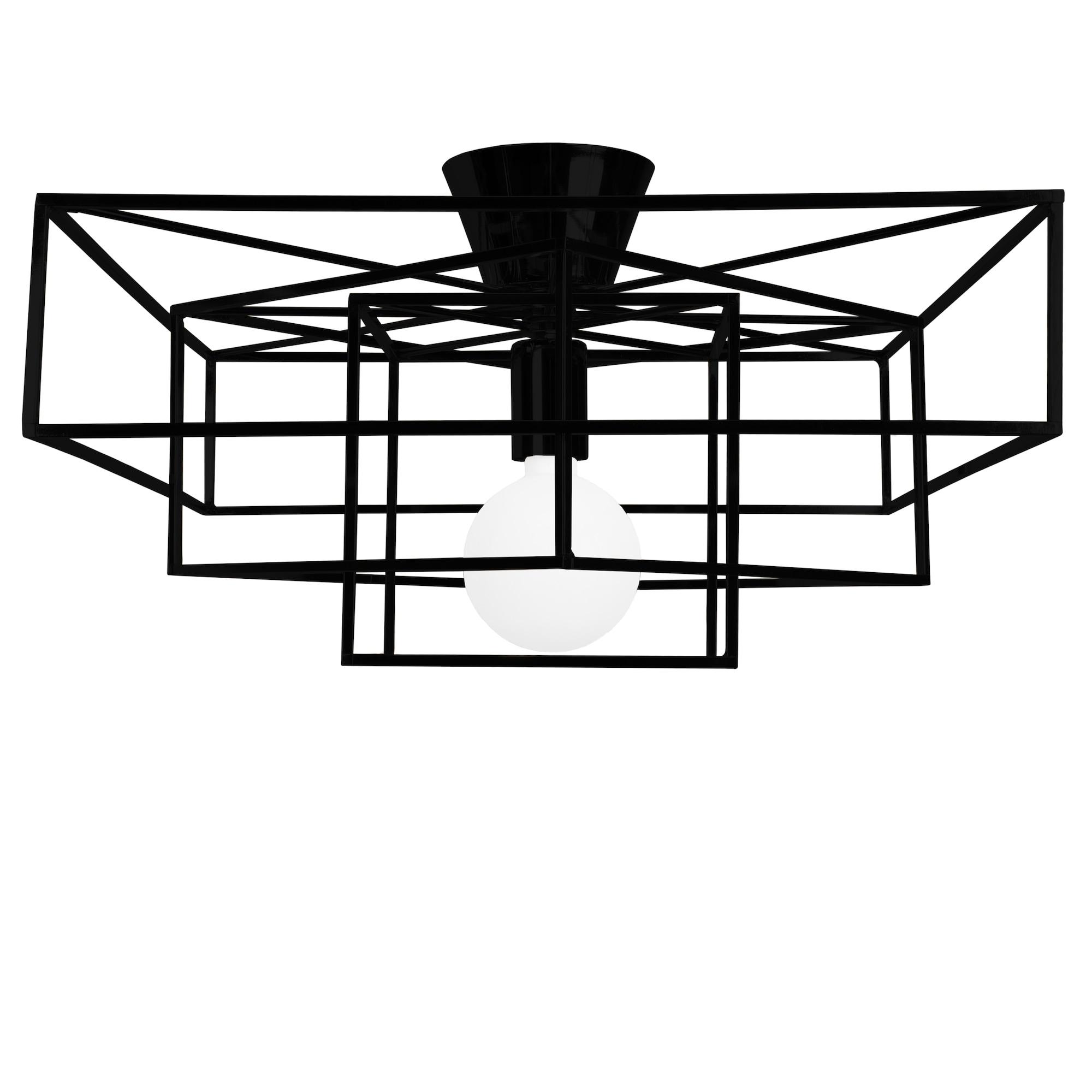 Cube plafond Svart