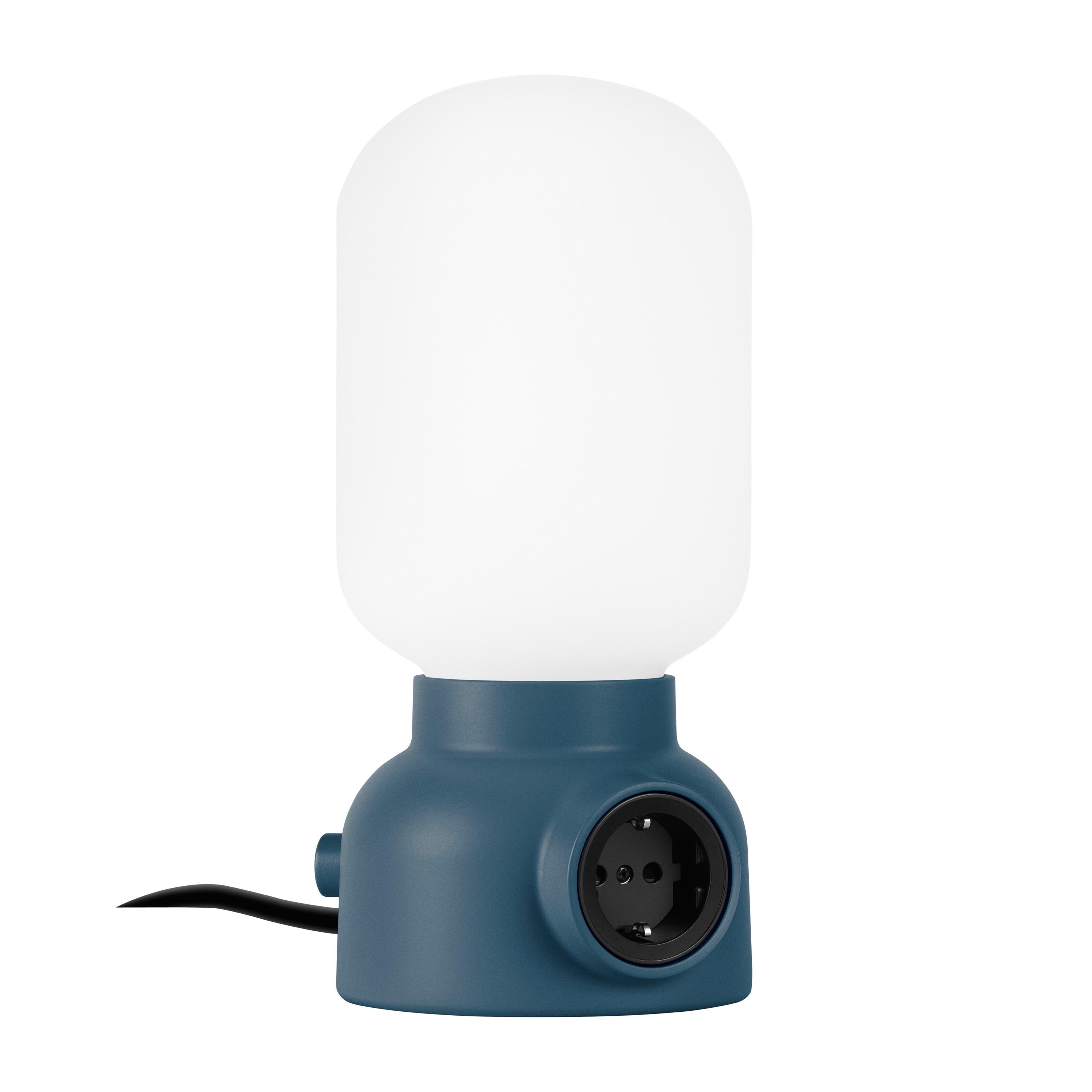 Plug Lamp bordslampa puderblå