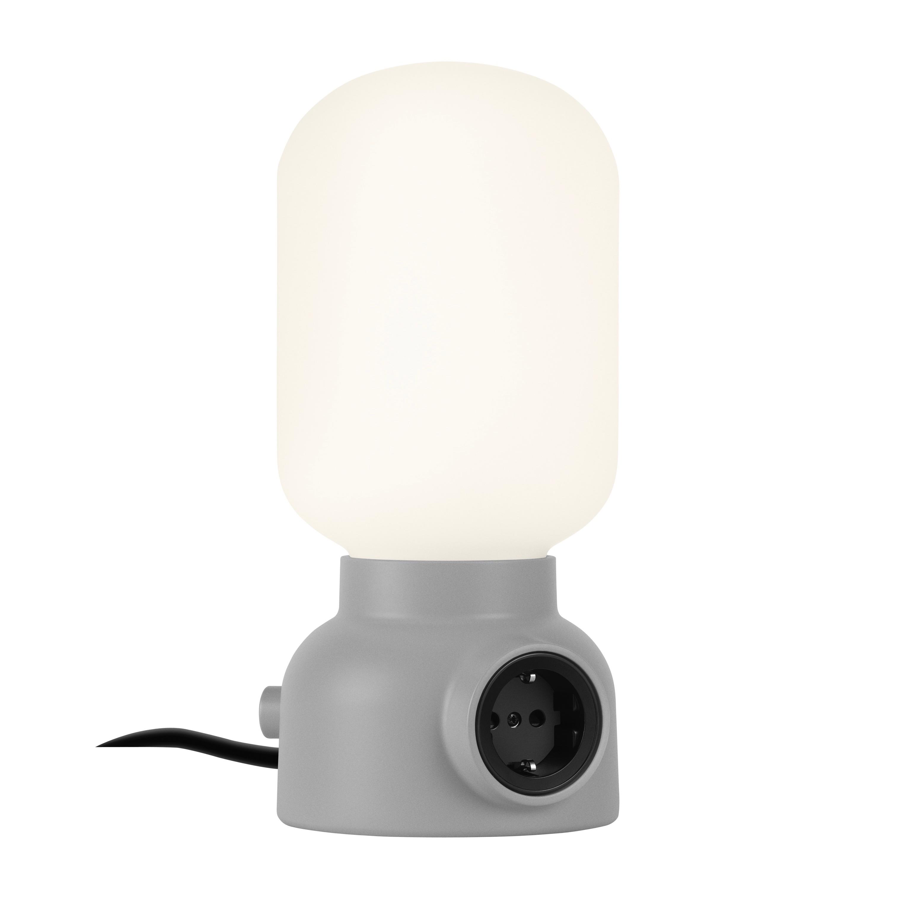Plug Lamp bordslampa Grå