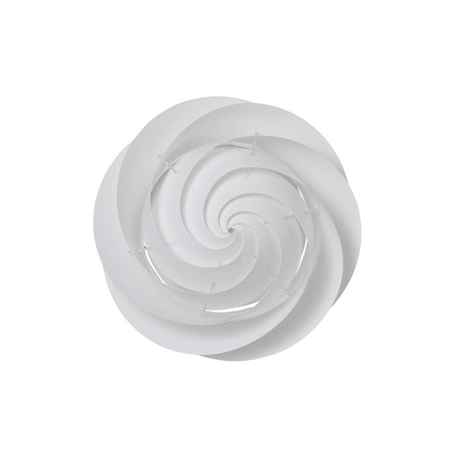 Swirl 1 small tak/vägglampa vit