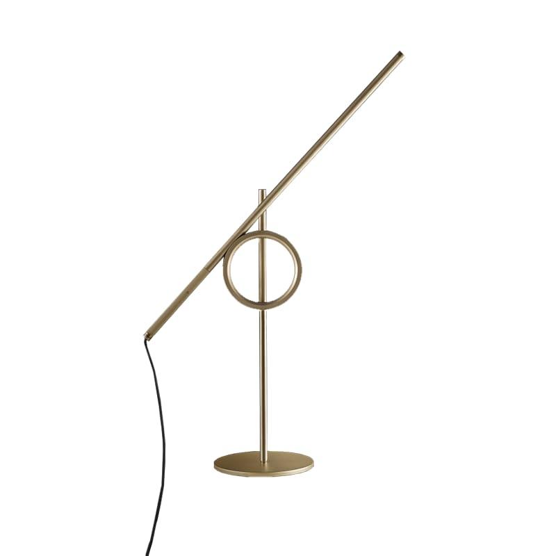 Tangent mini bordslampa guld