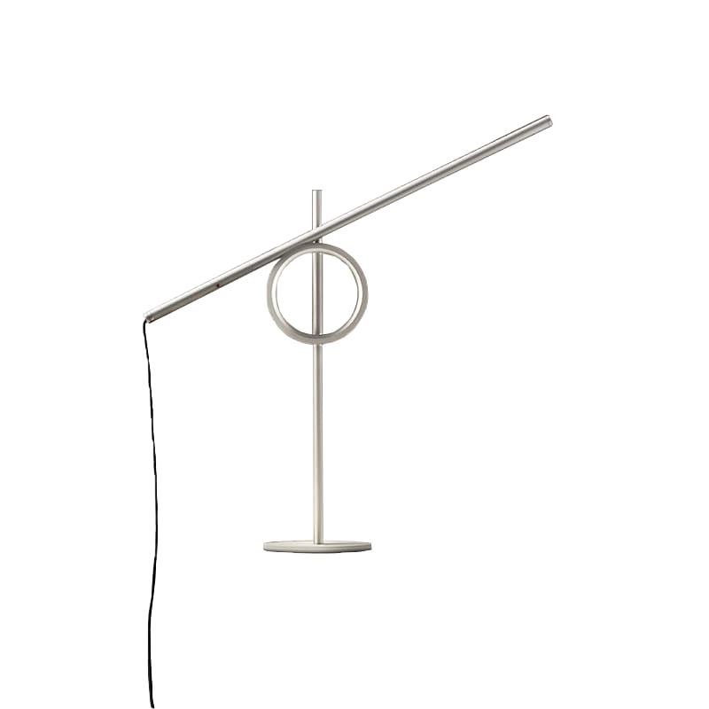 Tangent mini bordslampa silver