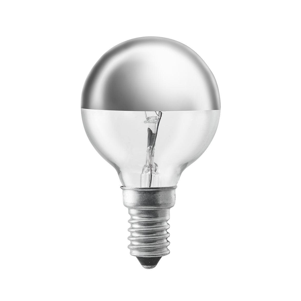 Tpf-klotlampa 40W E14 Silver/Klar