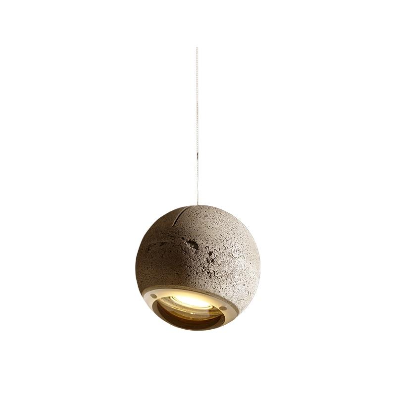 Trabant 1 Ø18 taklampa betong/klarglas