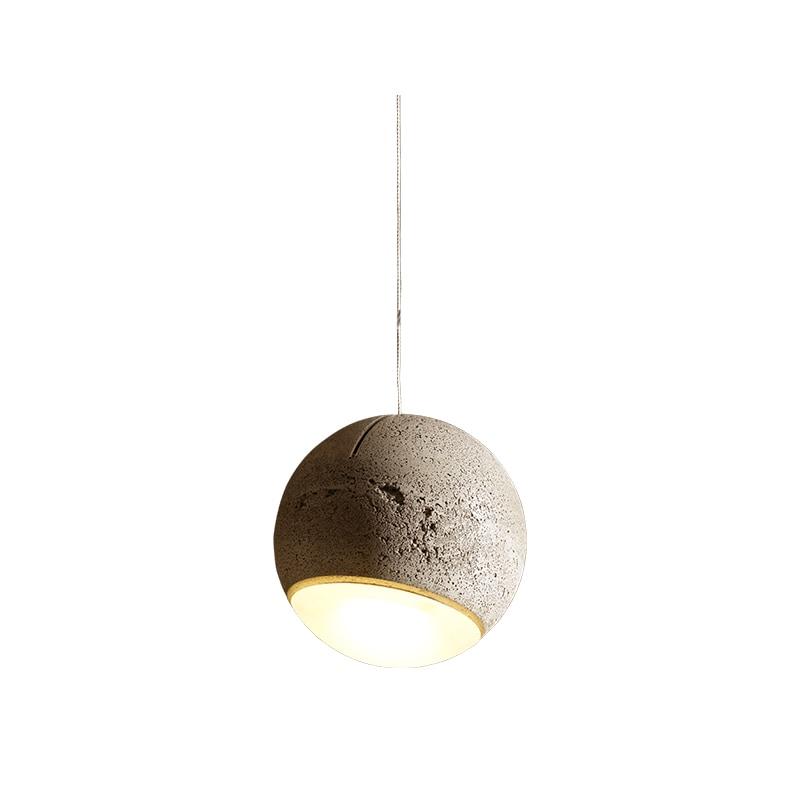 Trabant 1 Ø18 taklampa betong/matt glas