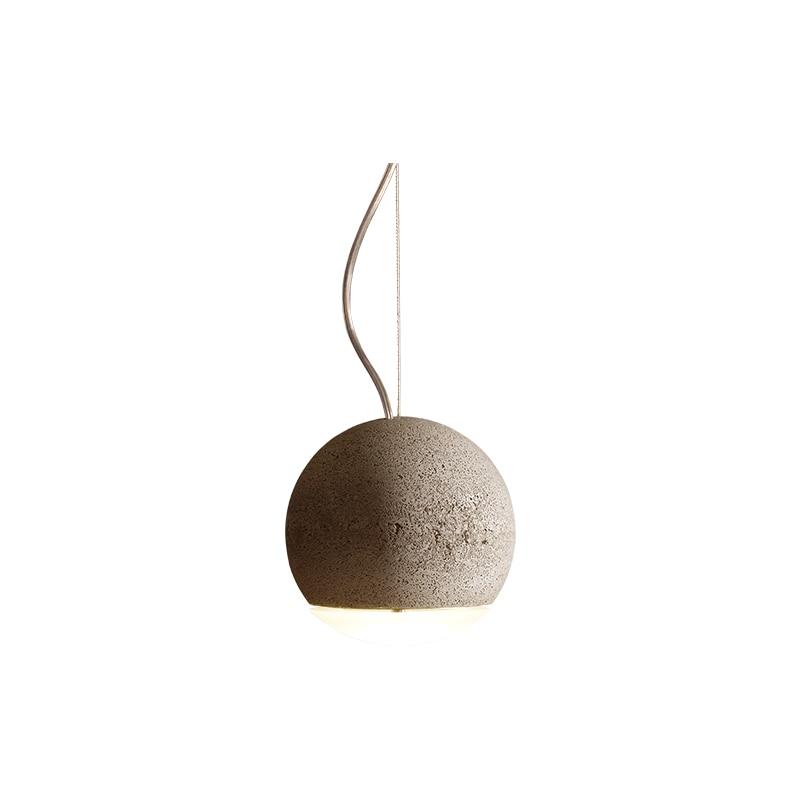 Trabant 3 Ø14 taklampa betong/matt glas