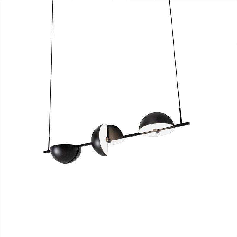 Trapeze TRIPLETTE taklampa svart