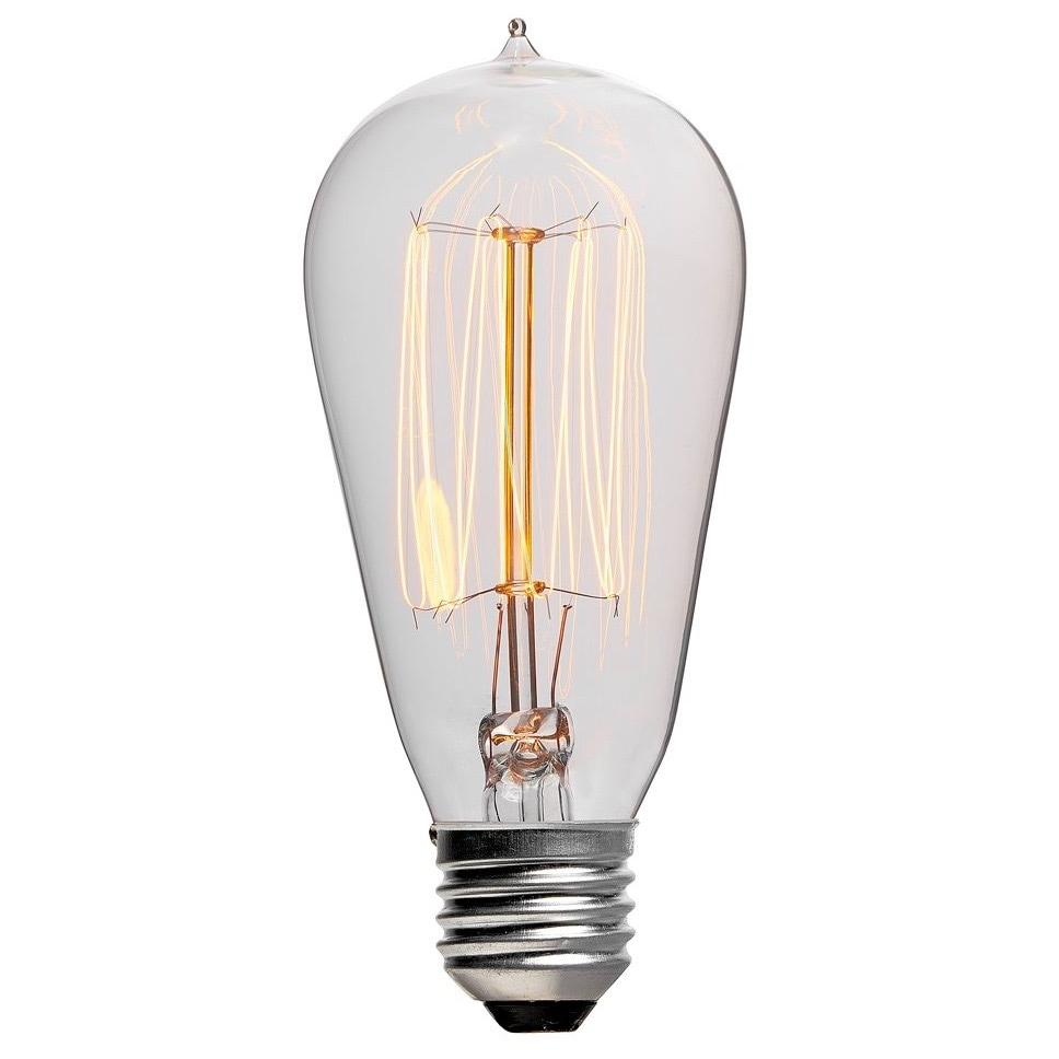 Glödlampa Dekoration 60W E27