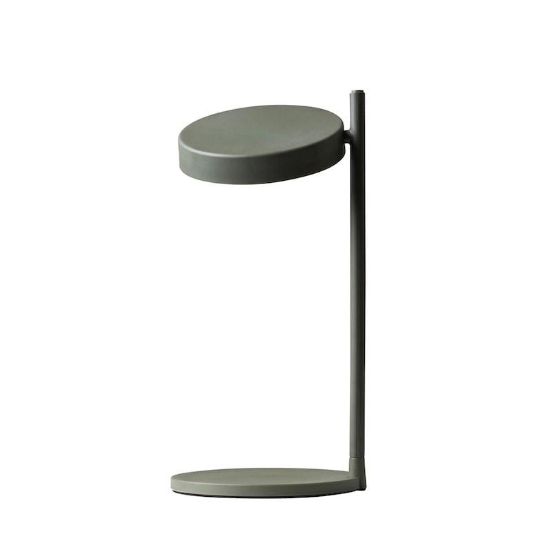 Pastille w182 bordslampa lång arm olivgrön