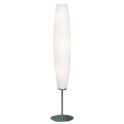 Zenta Golvlampa krom/opal glas