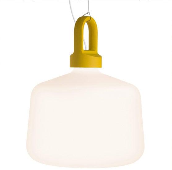 Bottle Golv/bordslampa Utomhus gul