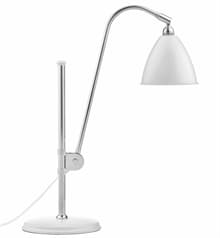 BL1 bordslampa matt white/chrome