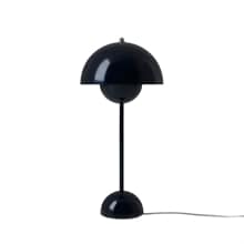 FlowerPot VP3 Bordslampa blackblue