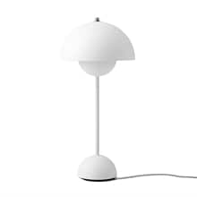 Flowerpot VP3 bordslampa matt white