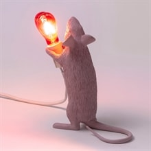 Mouse lamp step standing bordslampa love edition