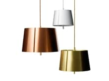 Lindvall W124S3 Large taklampa mässing