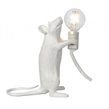 Mouse Lamp step standing Bordslampa, vit