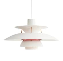 PH 5 taklampa modern white